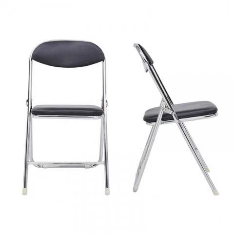 胜芳折叠椅批发 107折椅 铁板椅 2号椅 外贸折叠椅 折叠椅 家用会客椅  电脑椅 办公椅 培训椅 会议椅 华特家具