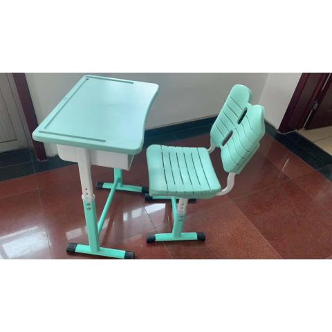 【嘉琪家具】厂家直供课桌椅,现货9000套