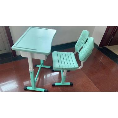 【嘉琪家具】厂家直供课桌椅,现货3000套