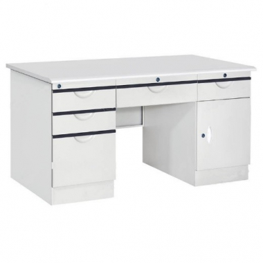 钢制办公桌 电脑桌 办公桌 铁桌子 铁皮桌 铁皮文件柜 书房家具 办公家具驰创家具