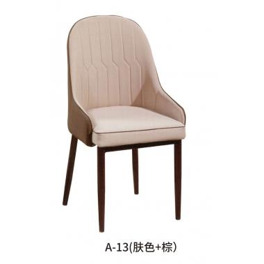 胜芳批发 家用现代 轻奢 酒店餐厅椅 北欧风 靠背休闲椅 餐椅 简约邦桥家具