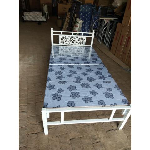 胜芳床铺批发 折叠床 单人床 双人床 高低床 午休床 行军床 简易床 铁质板床 板床批发 军龙家具