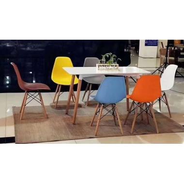 A-07胜芳家具批发 塑料椅 北欧椅 伊姆斯椅 休闲椅 实木腿 懒人椅 咖啡椅 接待桌椅 洽谈桌椅 时尚椅 简约椅 注塑椅 简约现代  宏羊家具
