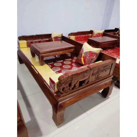 胜芳家具批发,老榆木茶台,老榆木桌椅,老榆木罗汉床,老榆木多宝阁,榆香阁家具
