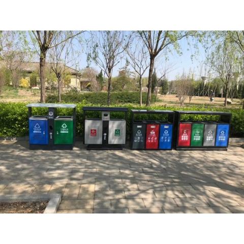 胜芳公园用具 公园清理用品 垃圾箱 公园果皮箱 垃圾桶 公园垃圾桶 分类垃圾桶 户外果壳箱 户外垃圾桶 博涵家具