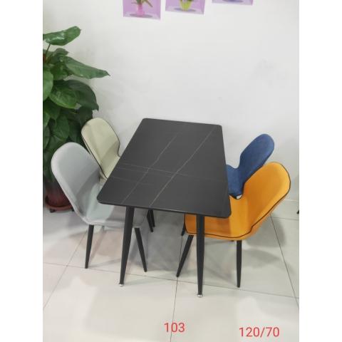 胜芳餐桌 玻璃餐桌 玻璃餐台 小户型餐桌 钢化玻璃餐桌 热弯玻璃餐桌 时尚简约 餐厅家具 餐厨家具 意发家具