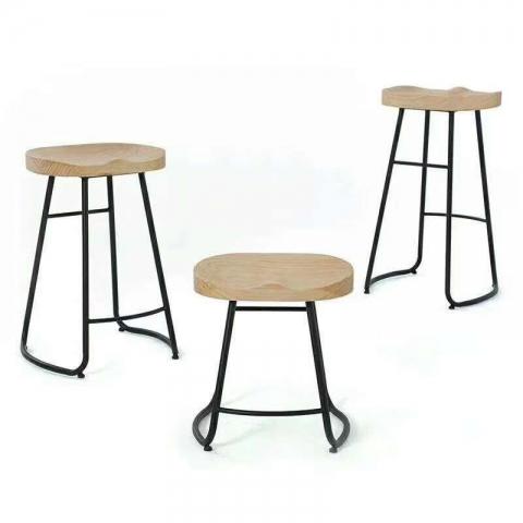 胜芳餐椅批发 吧凳 实木吧凳 酒店吧凳   奥博家具