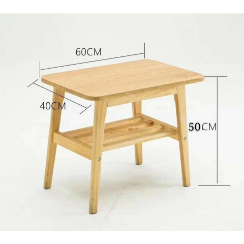 胜芳实木茶几批发 实木咖啡台 创意茶几批发 实木家具实木餐桌 小茶几饮品店桌 客厅家具 鸿欢家具