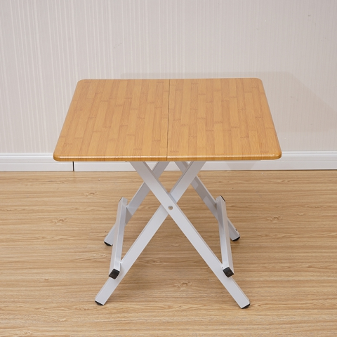 折叠桌批发 正方形手提桌家用折叠餐桌小户型折叠吃饭桌学习桌洽谈桌
