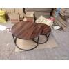 胜芳实木茶几批发 板式茶几 创意茶几批发 实木家具实木餐桌 小茶几饮品店桌 客厅家具 鸿欢家具