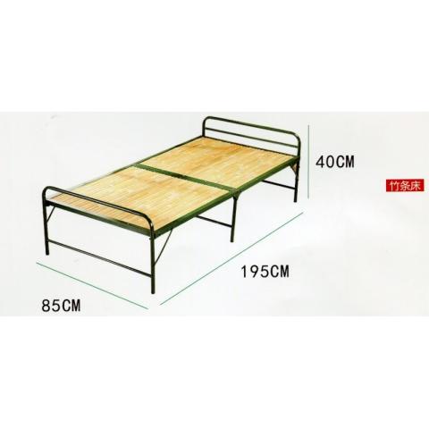 胜芳床类批发 折叠床 单人床 木板床 凉床 午睡床 竹板床 办公午休床 陪护床  睿鑫家具