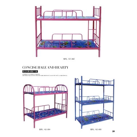 胜芳床铺批发 折叠床 单人床 双人床 高低床 午休床 行军床 简易床 铁质板床 板床批发 会忠家具