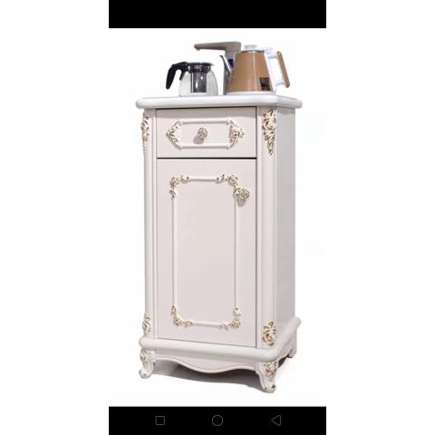 胜芳餐边柜 上水器柜 饮水纯净水桶柜 办公室 客厅家用 多功能茶水柜 储物架天晟家具