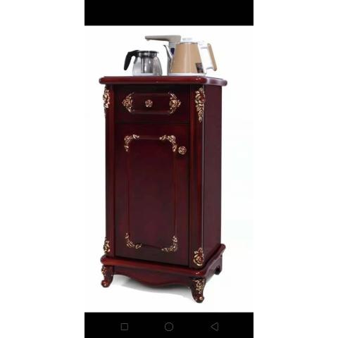 胜芳餐边柜 上水器柜 饮水纯净水桶柜 办公室 客厅家用 多功能茶水柜 储物架 临丰家具