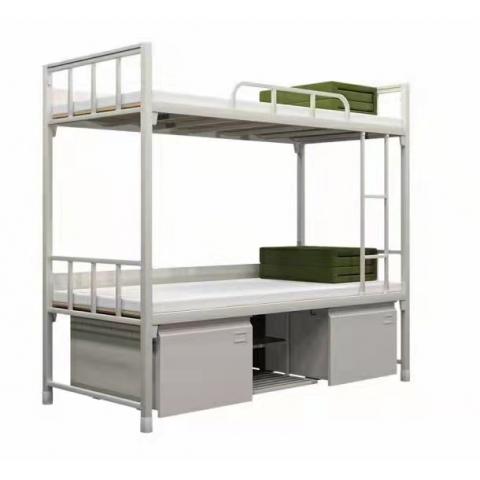 胜芳铁艺床批发 铁床 铁艺床 双人床  龙骨床 高低床 铁艺双人床 双人板床 智云家具