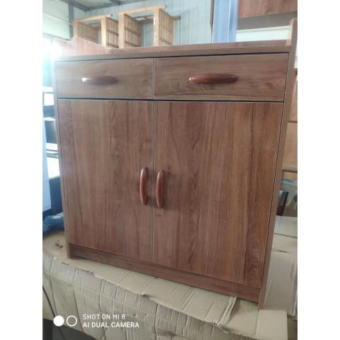 胜芳酒水柜批发 实木餐边柜 简易茶水橱柜 酒水柜 带抽屉储物碗柜 胜发家具
