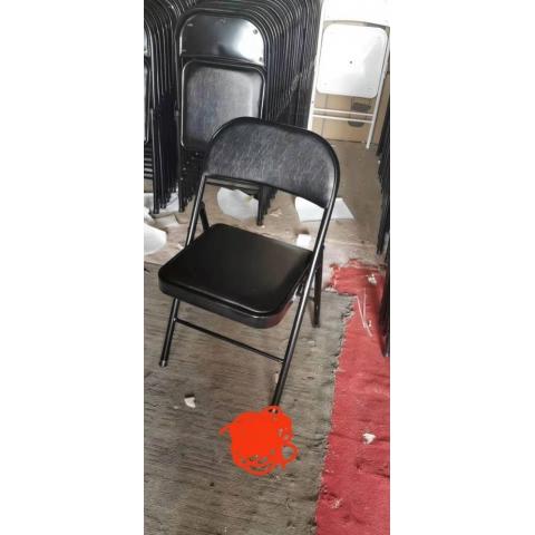 胜芳 培训椅 塑料 可折叠椅子 职员办公接待椅 会场靠背椅子 会议折椅 永萱家具  办公椅批发