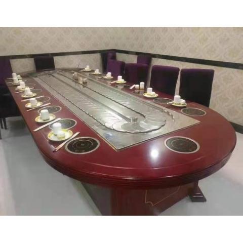 胜芳餐桌椅 转盘桌 实木旋转大餐台 桌面 桌架 实木餐桌椅 实木餐台椅 中式餐桌椅 实木餐桌椅组合批发 木质家具 餐厅家具中式家具 双全实木家具