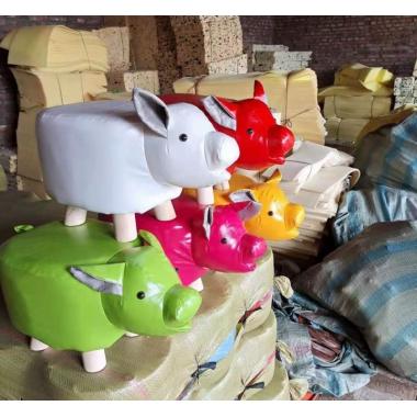 胜芳凳子批发 动物凳子 儿童 小凳子 动物 创意 卡通 小板凳 家用 脚换鞋 金鑫家具