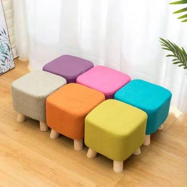 胜芳凳子批发 小型 多色小板凳 小方凳 家用 试鞋凳  矮凳 坐墩 金鑫家具