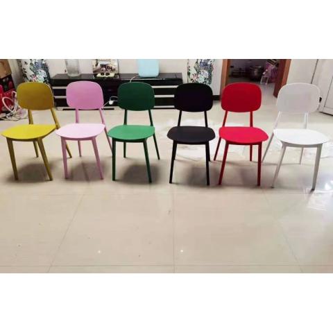 胜芳家具批发咖啡椅 伊姆斯 创意椅 塑料凳 设计师椅 时尚简约 休闲椅 伊姆斯椅子 餐厅家具 书房家具 休闲家具  鑫隆发家具