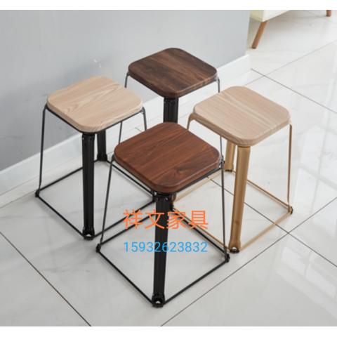 祥文家具方凳钢筋凳塑料凳胜芳圆凳铁皮凳15932623832
