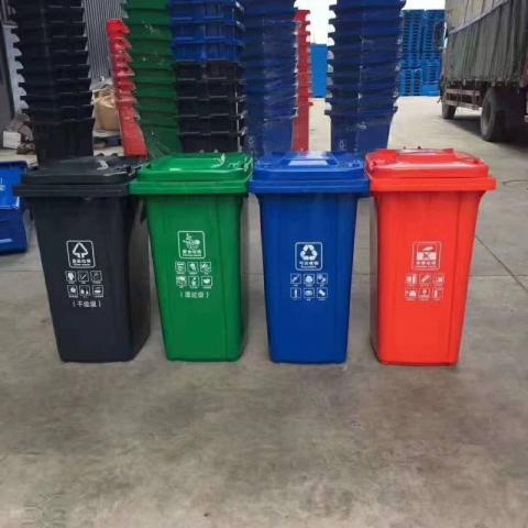 胜芳垃圾分类亭 批发 分类架子 新垃圾分类四分类三分类 垃圾棚 候车亭 垃圾收集点 垃圾投放点  垃圾站  垃圾屋   博涵户外家具