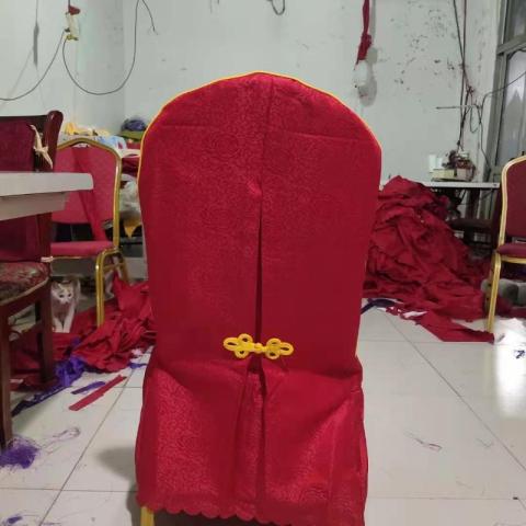 胜芳酒店椅套批发 酒店弹力椅套 婚庆 宴会 连体 椅子 套罩  桌布 家用 酒店用椅套批发多色 饭店椅套 启瑞纺织