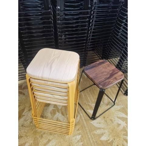 胜芳特价特价特价铁腿凳子 方凳 四腿凳子 铁质凳子 钢筋凳 套凳 圆凳 简易家具 意美佳家具