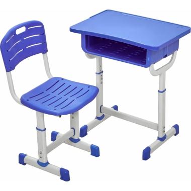 【嘉琪家具】厂家直供课桌椅,六种颜色,现货2000套