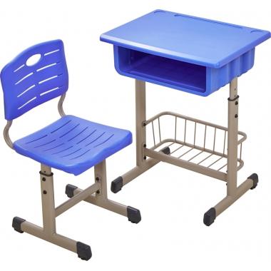 【嘉琪家具】厂家直供育才款课桌椅,三种颜色,现货2000套