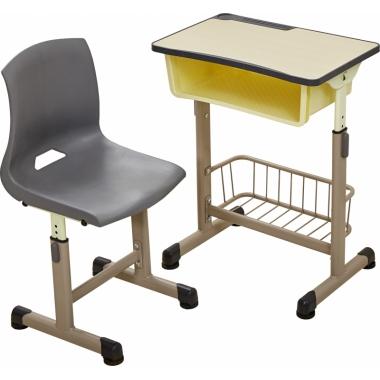 【嘉琪家具】厂家直TC1-24款课桌椅,三种颜色,现货2000套