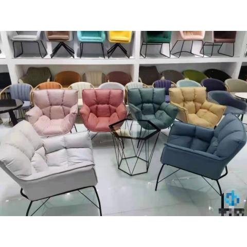 胜芳休闲椅批发 软包椅 伊姆斯椅 咖啡椅  太阳椅  时尚椅 休闲椅 铁线椅   轻奢餐椅 意式风格 功能沙发