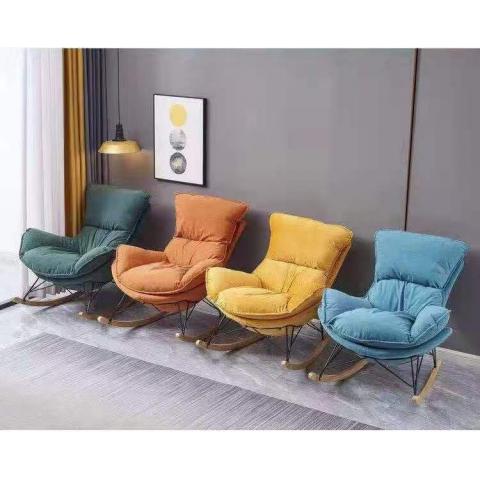 胜芳摇椅批发软包装 懒人沙发椅 电脑椅 休闲椅 电竞椅 休闲家具  华特家具