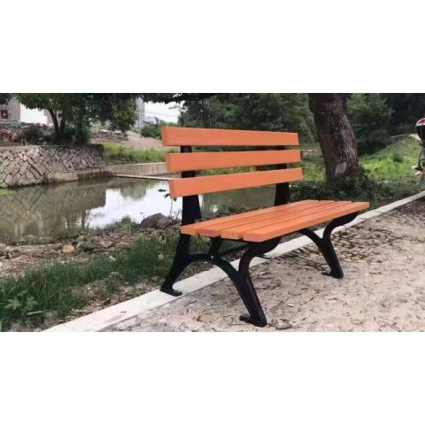 胜芳公园椅批发 公园椅 户外 长椅子 室外 长凳 庭院 休闲 座椅 排椅 铁艺靠背  圣之达家具