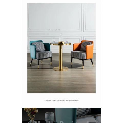 休闲时尚沙发椅轻奢椅   启源家具