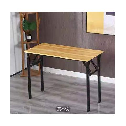 胜芳折叠桌批发 简易折叠餐桌 小户型家用折叠饭桌 长条桌 长条折叠桌 谦亨家具