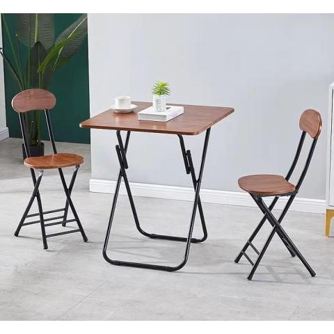 胜芳折叠桌批发 简易折叠餐桌 小户型家用折叠饭桌 户外折叠桌 谦亨家具
