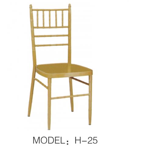 胜芳酒店家具批发 竹节椅 酒店宴会椅 户外椅 金属椅 现代餐椅 宏达酒店家具