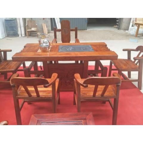 胜芳家具批发老榆木家具,老榆木茶台,老榆木桌椅,老榆木罗汉床,可以定做。榆香阁家具有限公司