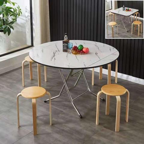胜芳折叠桌批发 厂家直销方圆桌,各类折叠桌  钢木家具 餐桌 桐新家具