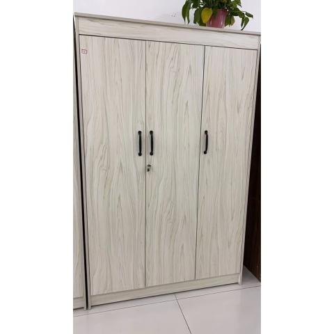 胜芳家具 家具批发 实木衣柜  三门外开衣柜  卧室家具 坤融家具