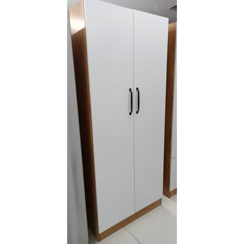 胜芳家具 家具批发 实木衣柜  两门外开衣柜  卧室家具 坤融家具