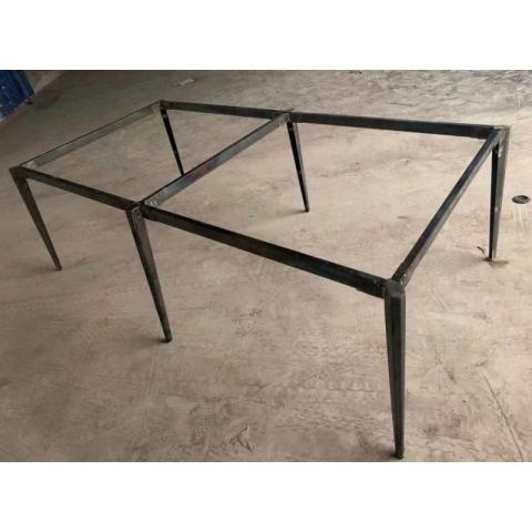 胜芳办公桌架批发 办公钢架 不锈钢桌架 办公桌 会议桌 书桌桌架 折叠桌架 办公钢架 办公家具 简易家具 富强家具