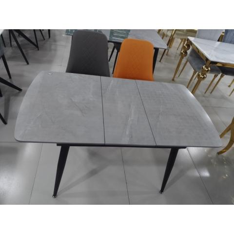 岩板餐桌抽拉桌工厂直销