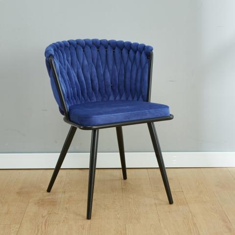 胜芳休闲椅批发 软包椅 现代工业风 简约创意休闲椅 酒店接待椅 单人沙发椅子 北欧风休闲椅 匠邦家具