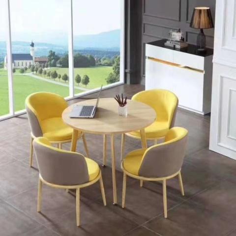 胜芳家具批发厂家,休闲椅,洽谈桌椅,接待桌椅,咖啡桌椅组合  咖啡台  小圆桌  三件套会客桌椅简约现代时尚  漫丽家具